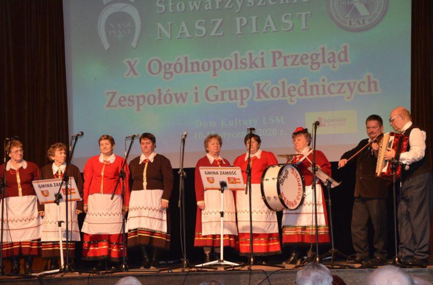 X Ogólnopolski Przegląd Zespołów i Grup Kolędniczych z akcentem Gminy Zamość