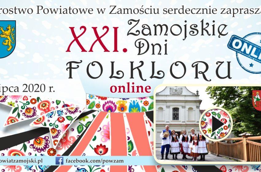 Zamojskie Dni Folkloru 2020 – online